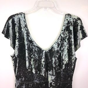 PPLA Dresses - PPLA crushed velvet dress Size L